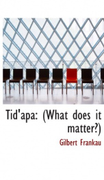 tidapa what does it matter_cover