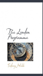 the london programme_cover
