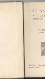 out and about a note book of london in war time_cover