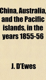 china australia and the pacific islands in the years 1855 56_cover