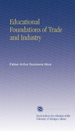 educational foundations of trade and industry_cover