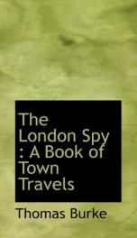 the london spy a book of town travels_cover