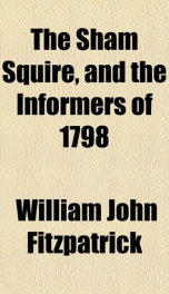 the sham squire and the informers of 1798_cover