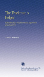 the trackmans helper a handbook for track foremen supervisors and engineers_cover