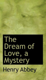 the dream of love a mystery_cover