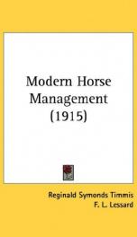 modern horse management_cover