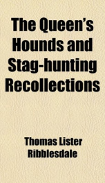 the queens hounds and stag hunting recollections_cover