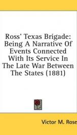 ross texas brigade_cover