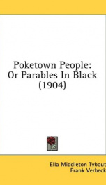 poketown people or parables in black_cover