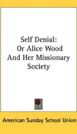 self denial or alice wood and her missionary society_cover