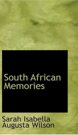 South African Memories_cover
