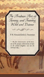 The Arabian Art of Taming and Training Wild and Vicious Horses_cover
