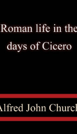 Roman life in the days of Cicero_cover