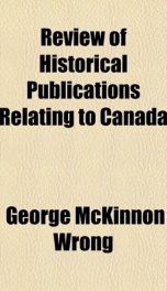 review of historical publications relating to canada_cover