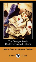 The George Sand-Gustave Flaubert Letters_cover