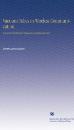 vacuum tubes in wireless communication a practical textbook for operators and_cover