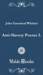 Anti-Slavery Poems I._cover