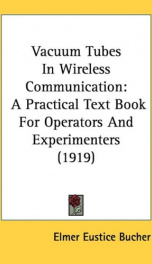 vacuum tubes in wireless communication a practical text book for operators and_cover