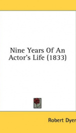 nine years of an actors life_cover