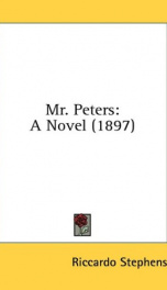 mr peters a novel_cover
