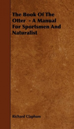 the book of the otter a manual for sportsmen and naturalists_cover