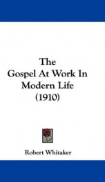 the gospel at work in modern life_cover