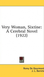 very woman sixtine a cerebral novel_cover