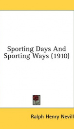 sporting days and sporting ways_cover