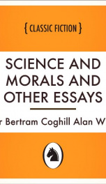 Science and Morals and Other Essays_cover