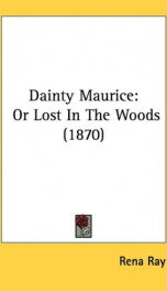dainty maurice or lost in the woods_cover