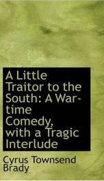 A Little Traitor to the South_cover