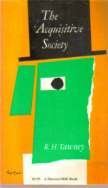 the acquisitive society_cover