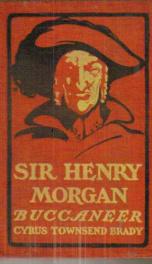 Sir Henry Morgan, Buccaneer_cover