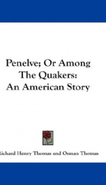 penelve or among the quakers an american story_cover