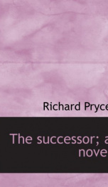 the successor a novel_cover