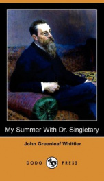 My Summer with Dr. Singletary_cover
