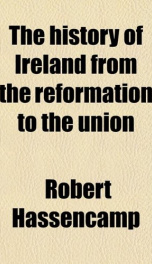 the history of ireland from the reformation to the union_cover