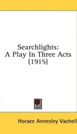 searchlights a play in three acts_cover