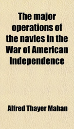 The Major Operations of the Navies in the War of American Independence_cover