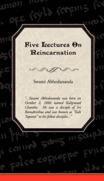 Five Lectures on Reincarnation_cover