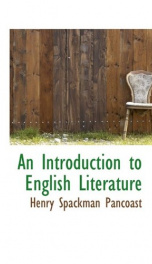 an introduction to english literature_cover