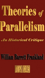theories of parallelism an historical critique_cover