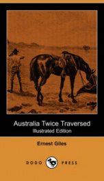 Australia Twice Traversed, Illustrated,_cover