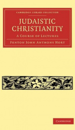 judaistic christianity a course of lectures_cover