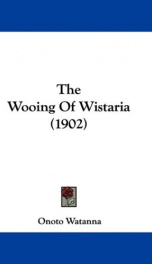 the wooing of wistaria_cover