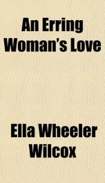 an erring womans love_cover
