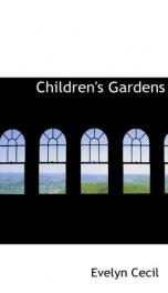 childrens gardens_cover