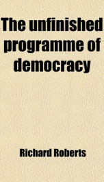 the unfinished programme of democracy_cover