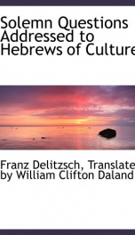 solemn questions addressed to hebrews of culture_cover