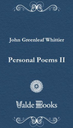 Personal Poems II_cover